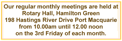 PMPSG Meeting Times and venue